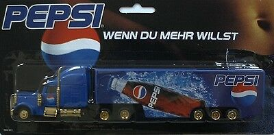 PEPSI Cola - If you want more (N° 1)  / truck, US Freightliner, Scale 1:87/HO