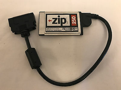 Iomega Z250PCMCIA Zip 250 PCMCIA Card With Cable