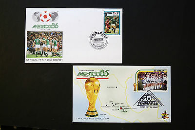St Vincent 1986 World Cup Covers
