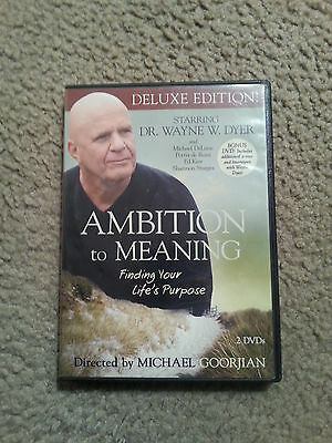 DR Wayne Dyer AMBITION TO MEANING Deluxe Edition 2 DVD Set
