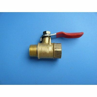 """Universal Inline Shut off Ball Valve 1/8"""" NPT Male to Female Pipe Fuel Air N-HG"""