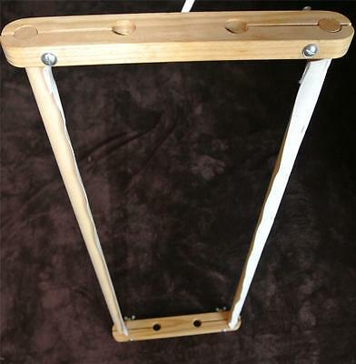 """PORTABLE Small-Med TIMBER FRAME for Tapestry Cross-Stitch Embroidery 18""""-46cm"""