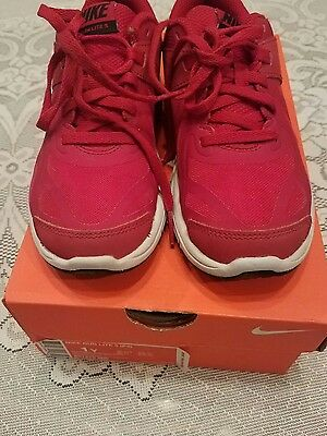 Youth Boys Size 1 NIKE AIR MAX RUN LITE 5 Athletic Shoes