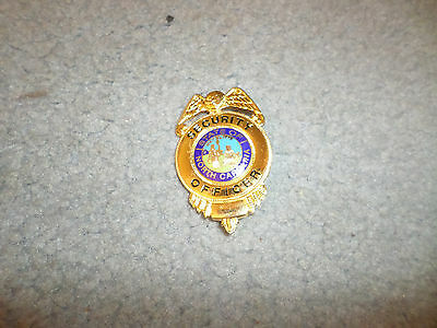 Generic Premier Nc Security Officer Badge