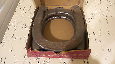 Vintage DULUTH DIAMOND DOUBLE RINGER PITCHING HORSESHOES Official,2-1/2 Pounds