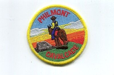 Patch From Philmont Scout Ranch-Philmont - Cavalcade