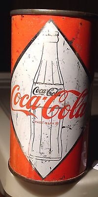 Coca Cola Steel Drink Can Bottle In Diamond