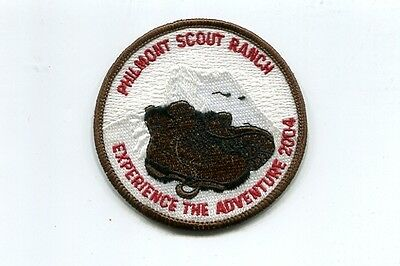 Patch From Philmont Scout Ranch-Adventure  Patch -2004