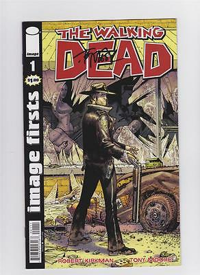The Walking Dead 1 Image Firsts Signed By Tony Moore Sdcc Eccc Robert Kirkman