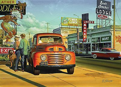 Holdson Jigsaw Puzzle 1000 Pieces 'Sunset Street' Automania Series