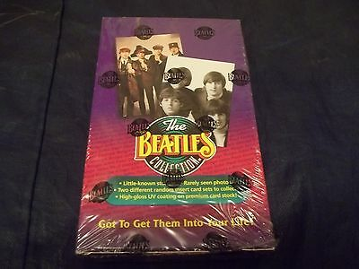 1993 The Beatles Collection Factory Sealed Box from The River Group w/36 packs