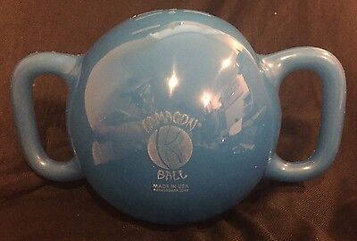 """Kamagon Ball 9"""" Water Filled Kettle Ball Exercise Weight Fitness Medicine Ball"""