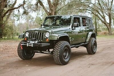 2007 Jeep Wrangler Unlimited Sahara only 37K Miles Fresh EX build 2007 Unlimited Sahara only 37K Miles Fresh EX build