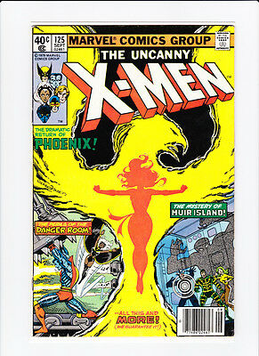 Uncanny X-Men #125 1979 MARVEL Dark Phoenix John Byrne 1st App of Proteus VF