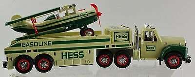 HESS Truck And Airplane 2002 Toy Collectable