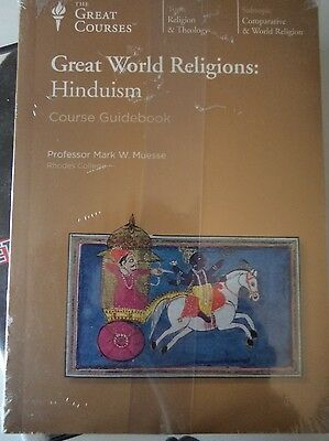 GREAT WORLD RELIGIONS - Hinduism The Great Courses 6 x CD + Guidebook BRAND NEW!