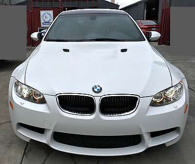 2012 BMW M3  2012 BMW M3 Coupe Mineral White M-DCT Competition Pkg 24K LOW Mileage