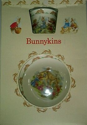 Bunnykins Royal Doulton Children's Set