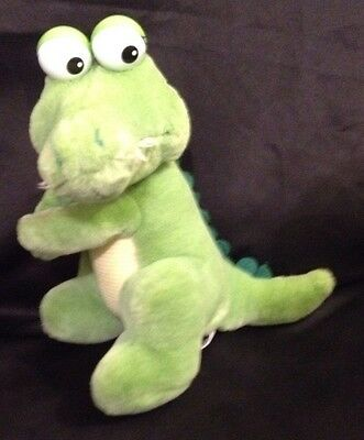 "Applause Crocodile Dad Plush Stuffed Animal 11"" 1988 Alligator"