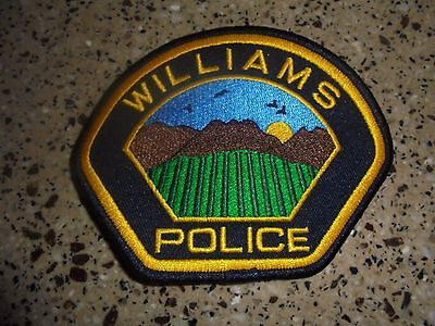 Brand New Williams Police Department Patch. Hard to Get, LOOK