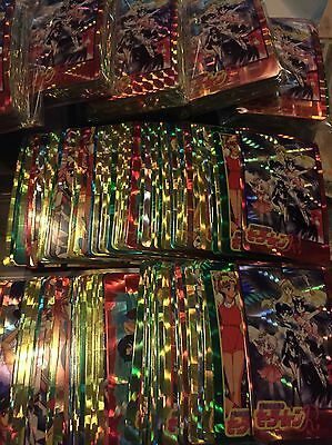 50 x All different Sailor Moon Prism Hologram Sticker Refractor Party favor !l!