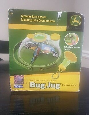 John Deere Special Edition Bug Jug Live Insect Viewer Uncle Milton New In Box