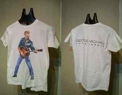 Original VINTAGE 1988 George Michael Faith Tour TShirt Size S  SMALL