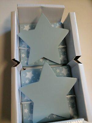 Decorative Blue Star Quilt Clips by Kids Line New in Box