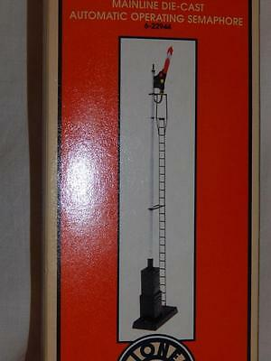 Lionel 6-22944 Mainline Die Cast Automatic Operating Semaphore + 153C O scale /S
