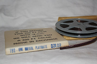 VINTAGE COLOR 8mm film stag burlesque pinup PLAYMATE STARRING FABULOUS EVE MEYER