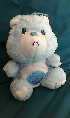 "Vintage 1983 Care Bear Grumpy Bear, Approx 7"" (Small)"