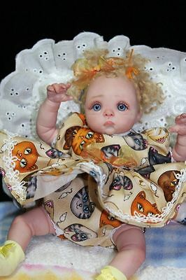 OOAK Baby Art Doll Polymer Clay by Svitlana