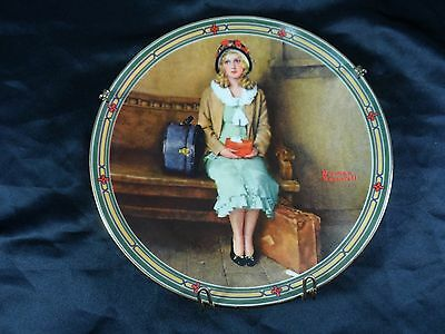 "Norman Rockwell collector plate ""A Young Girl's Dream"" 1985, Knowles"