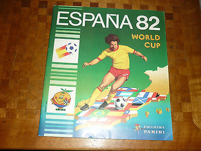 PANINI FOOTBALL ESPANA 82 WORLD CUP FR  Complet 100% TBE