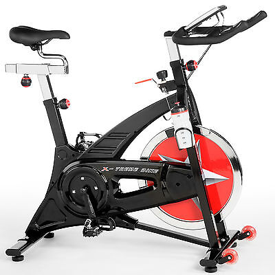 X-treme Evo Bike - Black Edition Riemen - Indoor Cycle - 22 kg Schwungmasse