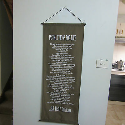 Large Affirmation Banner/Inspirational/Wall Hanging/Banner - NEW