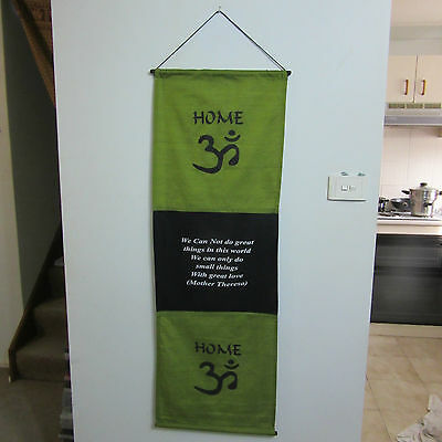 Large Affirmation Banner/Inspirational/Wall Hanging/Banner - Home - NEW