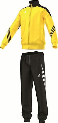 Adidas Football Youth Soccer Sereno 14 Polyester Suit Tracksuit Boys Yellow ...