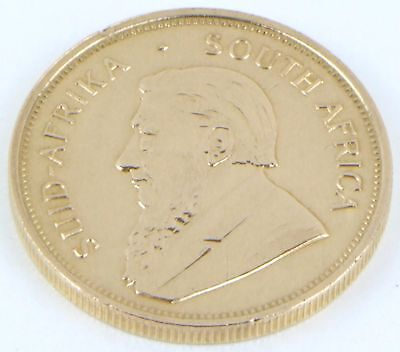 1 OZ Fine Gold 1974 Krugerrand South Africa Collectable Coin