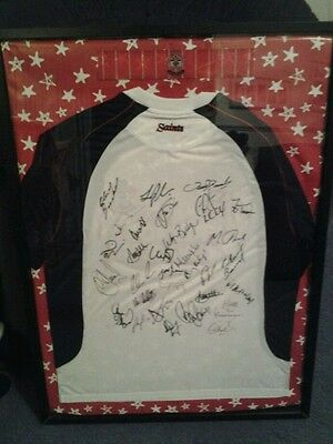 Southampton signed football club shirt 2000 with 30 signing