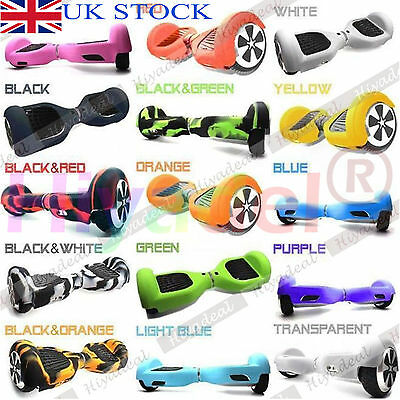 """Silicone Case Cover For 6.5"""" Wheels Smart Self Balancing Scooter Hover board CFT"""