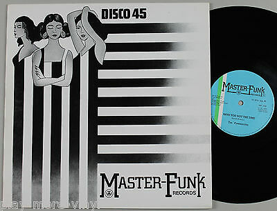 "THE FUNKMASTERS Have You Got The Time 12"" vinyl UK 1984 MF008"