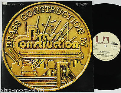 """BRASS CONSTRUCTION Help Yourself/Pick Yourself Up 12"""" vinyl UK 1978 U/A plays EX"""
