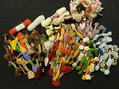 Assorted Tapestry/Crewel Wools APPROXIMATELY 120 SKEINS
