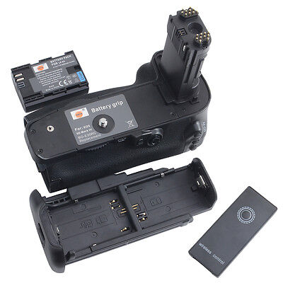 DSTE BG-E20 Battery Grip with Remote + LP-E6 Battery for Canon EOS 5D Mark IV