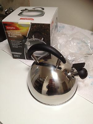 Campfire Stainless Steel Whistling Kettle 3 Litre Capacity