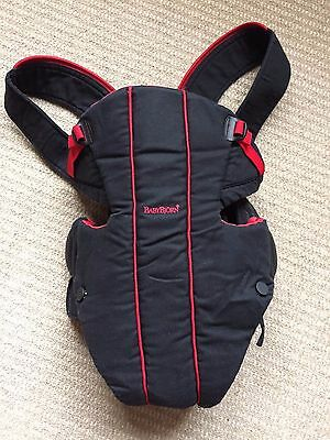BabyBjorn Baby Carrier Active - Sporty Black