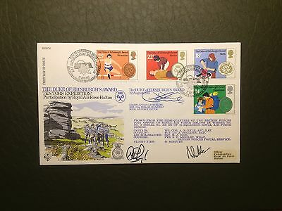 RAF RFDC SERIES FLOWN/SIGNED FDC COVER No.6