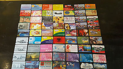 DUMMYS - Different Companys - Prepaid cards Greece  72pcs