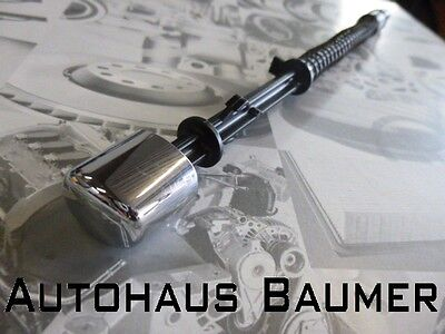 Handbremshebel Druckknopf in Chrom Original VW Golf Bora A3 Leon Octavia